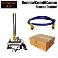 Professional Confetti Cannon Дистанционное управление Confetti Machine 150W Power Свадебный туманный туманный Станок Высота Жатки 4-5 Метров Стадия Света CE CE