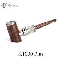 KAMRY K1000 Inoltre E Tubo Kit penna elettronica 1000mAh 4mL Svuotare Vape Pen cartucce Max 30W in legno design vapore E-cig Vape VS K9