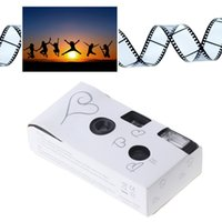 Cámaras de cine SIV 27PS Power Flash HD Solicitud de un solo uso de una sola vez Regalo de fiesta de cámara desechable contiene el