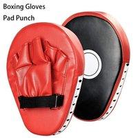 Sanda Yetişkinler için UFC Dövüş Eğitimi Dövüş 1PC Pad Punch Hedef Çanta Eldiven Boks Eldivenleri Boks Eğitim Tay Kutusu Mma eldivenler Fight Kick