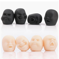Creative Stress Adult Human Stress Relieve Vent Ball Cuff Squeeze Emotion Kids Decompression Toy Anti Funny Face Toys Children Gag Gift Mmvd