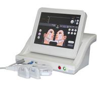 3D HIFU yüz germe cihazı HIFU zayıflama makinesi yüksek yoğunluklu 5 kartuşları ile ultrason HIFU cerrahi olmayan makineyi odaklı