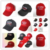 دونالد ترامب 2020 الانتخابات الأمريكية البيسبول كاب جعل أميركا مرة أخرى العظمى قبعة التطريز قبعة إبقاء أمريكا العظمى الرئيس الجمهوري ترامب قبعات