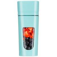 juicers 핸드 메이드 과일 또는 야채 스무디 미니 과즙 짜기에 대 한 휴대용 블렌더 USB 충전식 야외, 여행 파란색