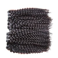 Remy gros Brésilien humain Bundles cheveux bouclés Weave Kinky 10 1 kg Bundles Lot Vierge cheveux coupés non transformés Couleur naturelle d'un donneur