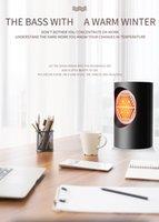 Тепловентилятор Mini воздуходувку теплого воздуха с сенсорным экраном Электрический обогреватель портативный мини Главная Personal Space грелка для внутреннего офиса зима черный белый