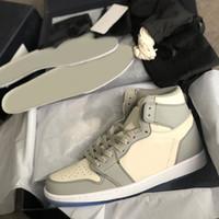 Hommes Chaussures 1 Haute O Gield Sneakers Air haut Top Zoom R2T Racer Entraîneurs Gris Broderie Basketball Chaussures Femmes Print Print Sport Chaussures Sport