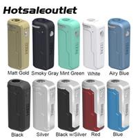 Аутентичный Yocan UNI Box Mod батарея 650mAh Универсальная портативные Разогреть VV батарею для 510 Thread густого масла Картридж электронной сигареты Mod