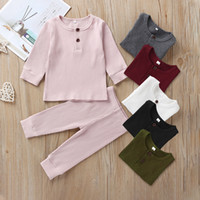 Hot Baby Clothing for Boys And Girls Long Sleeve T- shirt Pan...