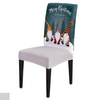 غرفة الطعام غطاء كرسي عيد الميلاد سانتا كلوز كرسي يغطي الكراسي غطاء الطاولة للمطبخ مفرش المائدة ديكور المنزل