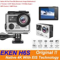 Caméra d'action Ultra HD d'origine EKEN H6S avec 4K / 30FPS 1080P / 60FPS EIS 30M ÉMERAUX H6S Caméra de sport Native 4K avec technologie EIS