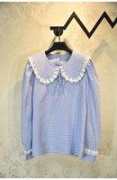 801 2020 Ücretsiz Kargo Autumnbrand Aynı Stil Gömlek Bluzlar Yaka Boyun Uzun Kollu Moda Bayan Giysileri Yashi