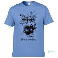 뜨거운 판매 새로운 패션 브레이킹 배드 T 셔츠 남성 하이젠 베르크 Camisetas 험 브레 남성 짧은 소매 코튼 힙합 T 셔츠 탑 티 셔츠 쿨