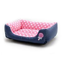 أرقام الكلاب نقطة دوت كلب السرير الحلوى الألوان ناعمة مريحة دافئة للماء النوم بيت الكلب حصيرة للكلاب المتوسطة الصغيرة الجراء الملحقات