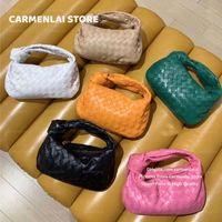 2021 Mode Mini Hobo Umhängetasche für Frauen Weiche Unterarm Handtasche Geldbörse Hohe Qualität Damen Tote Crossbody Messenger Handtaschen