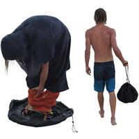 Sac de rangement de plongée Combinaison de plongée portable Pull rapide Organisateur cylindrique Plage Surf Costume Vêtements Natation Sac à cordonnet stockage VT1539