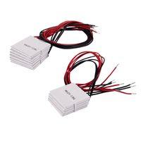 Ventilatori Coolings 10 PCS TEC1-12706 Cooler Peltier Effect Modulo termoelettrico 12V 60W 72W