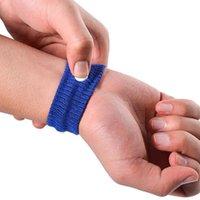 Взрослые Дети против укачивания Открытый спортивный браслет Беременность Anti-плевки Терри Фитнес Пот-абсорбент Wristband