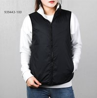Womens Vest Moda Jacket New Arrival sem mangas das mulheres jaquetas Casual Inverno Keep Warm Coats Dupla Face Down Vest Tamanho S-XL