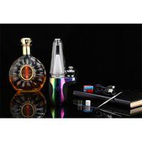 2020 Neueste Regenbogen DABCOOL W2 Enail KIT Wax Konzentrat Shatter Budder Elektronische Dab Rig vape Kit mit 4 Heizstufen Langlebige DHL