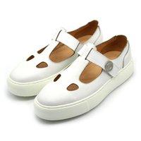Sandalias Blanco Negro Tacón grueso Corte de cuero Strap Strap Mens Gladiadores Verano Zapatos de negocio formal