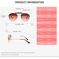 KANDREA 2020 İlkbahar Yeni Çocuk Güneş Yuvarlak Metal Güneş Gözlükleri Çocuk Büyük Çerçeve Gözlük Erkekler Kızlar Klasik Retro SpectaclesDR27