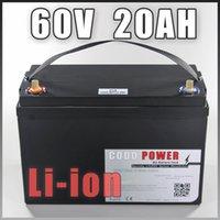60V 20AH Elektro-Dreirad E Fahrrad 1500W Lithium-Ionen-Batterie-Satz-Energien