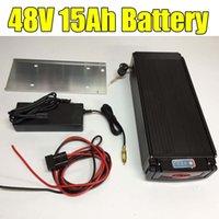 2016 горячей продажа 48V 15AH литий-ионный стоечный черная Батарея 2Amp зарядного устройство для аккумуляторов Ebike со светодиодной подсветкой