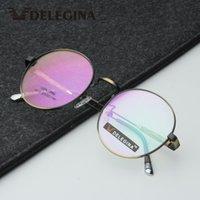 Moda Gafas de sol Marcos Hipster Classic Glasses Marco Mujeres Hombres Eyeaglasses ópticos Myopia Gafas para la prescripción de vidrio
