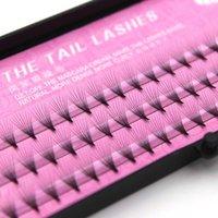 9D 0,07 millimetri C Pre-made Fan cigli falsi spessi naturali Bundles seta imitazione visone Lash Extensions