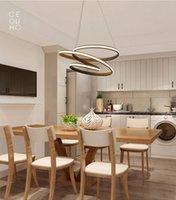 Современные светодиодные люстры Подвеска зажигает лампы для столовой гостиной lampadario MODERNO Luster Люстра Освещение AC85-265V