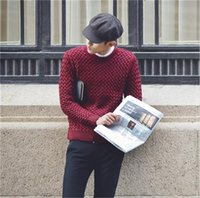 20AW Mens Designers Sweaters Casual Solid Color O Neck Long Sleeve Slim Sweater New Mens Clothing