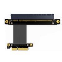 بكيي 3.0 X4 إلى x16 وتمديد كابلات 32G / BPS PCI-E 16X 4X GTX1080Ti الرسومات SSD RAID بطاقة موسع تحويل الكابل بي سي اي اكسبريس