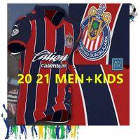 20 21 Chivas Home Away Fussball Jersey A.pulido Lopez Brizuel Vega Football Hemden 2020 2021 Chivas Red Guadalajara Sport Fußballuniformen