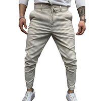Günlük Pantolon 2020 Erkek Streetwear Harem Pantolon eşofman altı Skinny Sweatpants Pantolon Siyah İstasyonları Jogger Parça