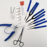 자물쇠 공급 한국 브로큰 키을 찾는 중 도구 키트 아웃 자물쇠 공급을 가지고 쉽게하는 데 사용하는 휴대용 도구 -