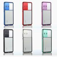 Mercek Koruma Anti iphone için cam Uygun Cep Telefonu Kılıf Manyetik Soğurma Telefon Kılıfı çift taraflı gözetlerken DHL ücretsiz
