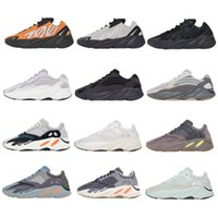 2020 Kanye West 700 Chaussures de course Vanta 700 V3 Alvah Azael Reflective 380 Blue Oat Baskers Sports Sports Alien Mens 36-47