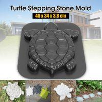 Animal Fazendo DIY Pavement Mold Início Jardim Andar estrada de concreto Stepping calçada de pedra Mold Path