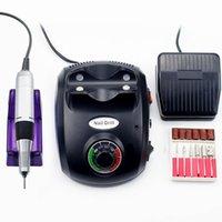 35000/20000 RPM Drill Smalto per unghie Manicure macchina elettronica Nail File Drill Pedicure del manicure del corredo di arte del chiodo Apparecchiatura CX200812