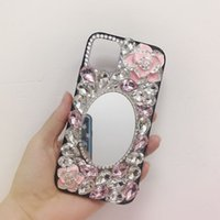 Luxury Bling Crystal Diamond Color Clear Back Rhinestone Phone Cases Cover For iPhone 11 12 Pro Max X XR XS MAX Case 6S 7 8 Plus