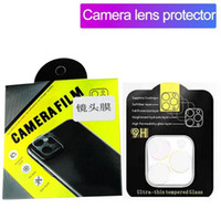 Camera Film, vetro temperato per iPhone 11 Protezione libera della copertura completa di Pro Max Ultra Screen Camera Lens con la scatola di vendita al dettaglio