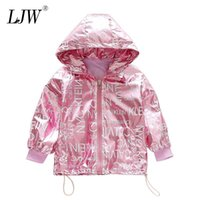 Girls Windbreaker Hooded Jacket For Child Clothing 2020 Bran...