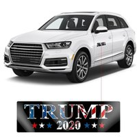 أسود دونالد ترامب الانتخابات الوفير ملصق إبقاء أمريكا الرئيس العظمى القابل للإزالة PVC سيارة عاكس ملصقات DHC1219