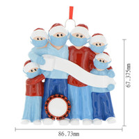 Cheapest! In Stock 2020 DIY Christmas Ornaments Family Chris...