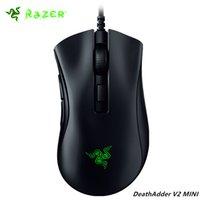 Raze Razer DeathAdder V2 Mini Mini Jogos Fios 8500dpi Sensor óptico 3359 Chroma RGB 6 botões programáveis ergonômicos
