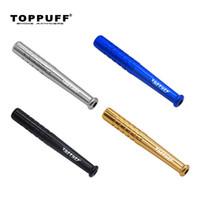TOPPUFF Metal One Hitter bastão de beisebol em forma de tabaco cachimbos Cachimbo Metal Snuff Sniffer Snorter fumadores Herb fumaça ferramenta Tubo