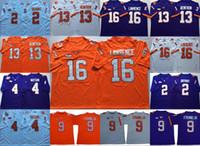 Clemson Tigers Footbal 16 Trevor Lawrence 2 Kelly Bryant 4 Deshaun Watson 13 Hunter Renfrow 스티치 맨 유니폼