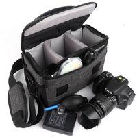 Kamera Çantası Moda Polyester Omuz Çantaları Kılıf Canon Nikon Sony Lens Kılıfı Su Geçirmez Fotoğraf Fotoğraf