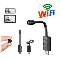 Gözetim Kameralar ile Wifi USB Mini Kamera IP USB Full HD 1080P P2P CCTV SD Kart Bulut Depolama Akıllı AI İnsan Algılama V380 APP